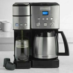 Cuisinart 10-Cup Thermal Single-Serve Brewer Coffeemaker and