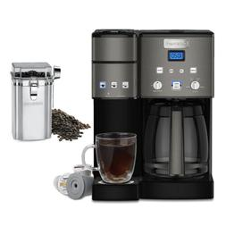 12 cup coffeemaker and single serve brewer