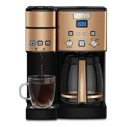 Cuisinart 12 Cup Coffeemaker and Single Serve Brewer w/ 3 Ye