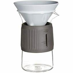 Chef'n 110-222-356 Pour Coffee Carafe, EA, Glass/Anthracite