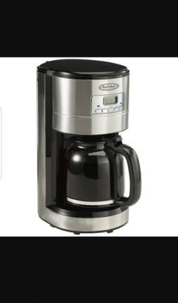 chef's mark 12 cup programmable coffee maker CM4276 new