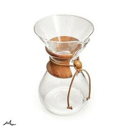 Chemex Coffee Maker Pour Over Glass 6 Cup