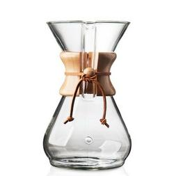 Chemex Classic 8 Cup CM-8A Coffee Maker - Authorized Reselle