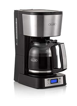 BELLA  12 Cup Coffee Maker with Brew Strength Selector & Sin