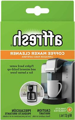 Coffeemaker Cleaner 4 Tablets Compatible Single Serve Brewer