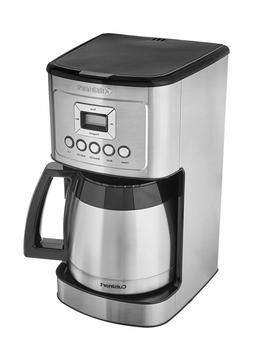 Cuisinart Programmable 12 Cup Coffee Maker Blue Backlit LCD