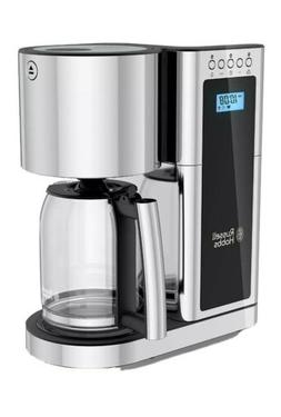 Russell Hobbs Glass 8 Cup Coffeemaker in Silver and Stainles