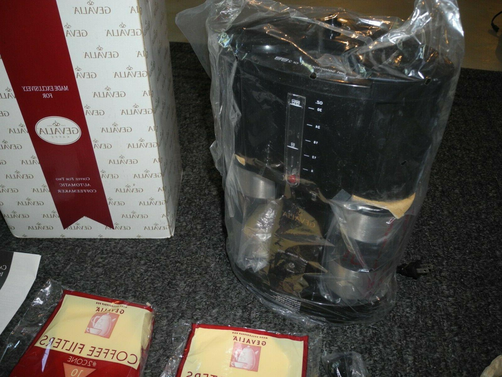 NEW Box WS-02A Automatic Coffeemaker Stainless Steel