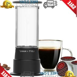 Manual Coffeemaker for K-Cups - Single Serve Manual Brewer f