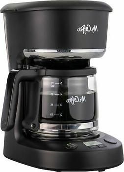 Mr. Coffee 5-Cup Programmable Coffee Maker, Brew later featu