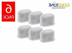 Everyday 6-Pack Replacement Charcoal Water Filters For Coffe