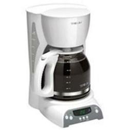 SKX20-NP 12 Cup Programmable Coffeemaker, White