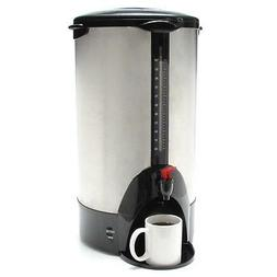 """Coffee Pro URN/Coffeemaker 100 Cup 13-1/2""""x12-1/2""""x23"""" Stain"""